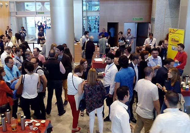 Momento de Café y Networking en la pasada edición del Congreso Web
