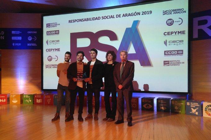 Jornada Anual de la Responsabilidad Social de Aragón 2019 encantados de comerte