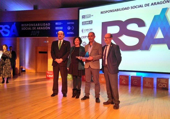 Jornada Anual de la Responsabilidad Social de Aragón 2019 el contador Oceano Atlantico
