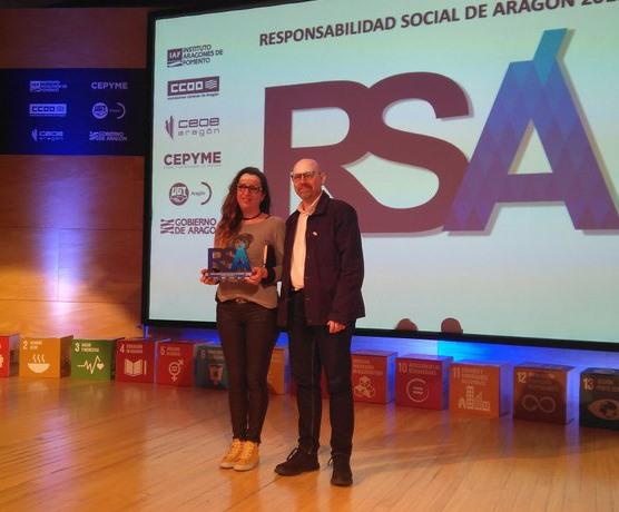 Jornada Anual de la Responsabilidad Social de Aragón 2019 el contador de suenos