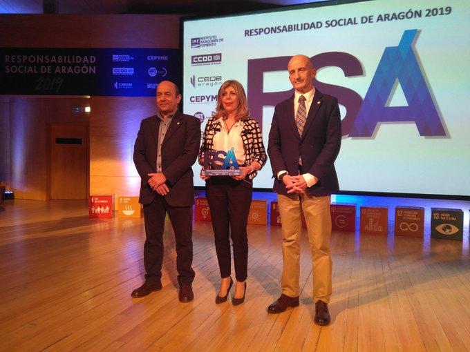 Jornada Anual de la Responsabilidad Social de Aragón 2019 universidad de zaragoza